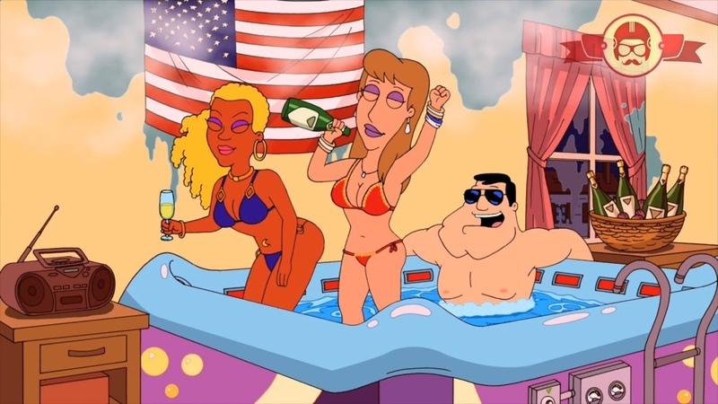 Американский папаша   Горячая ванна   Лучшие моменты