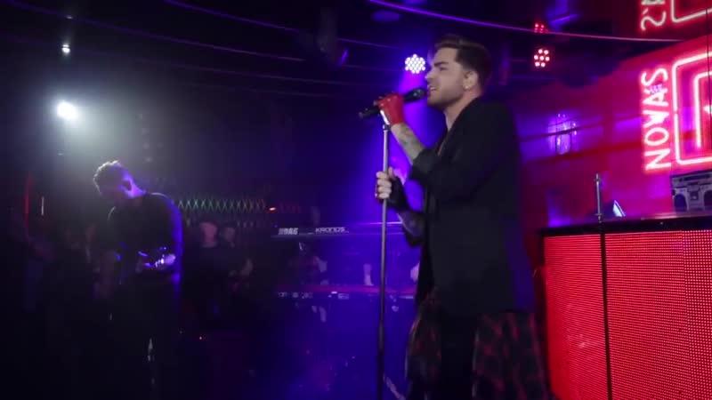 Adam Lambert - Ghost Town live from the Nova Red Room Global Tour - 2015-07-30