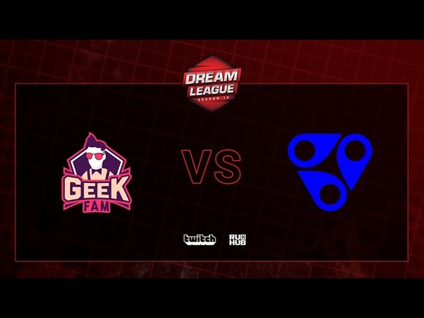 Geek Fam vs Reality Rift, DreamLeague S13 QL, bo2, game 1 [Mortalles]
