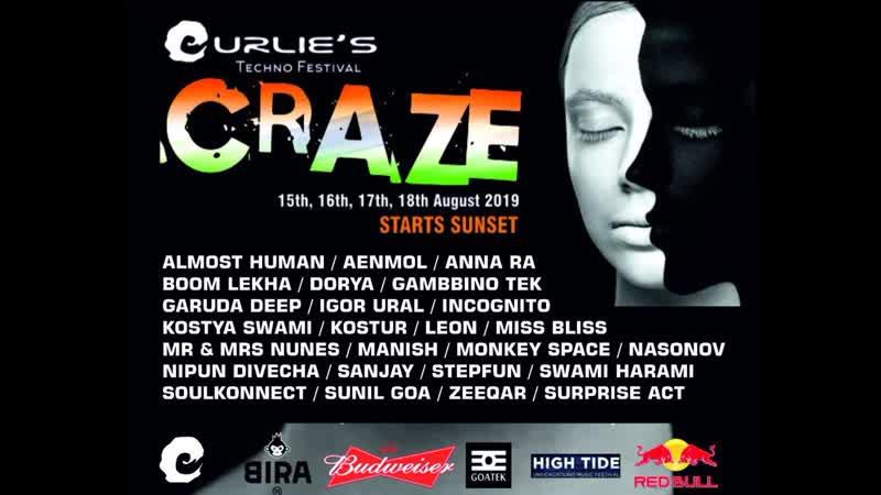 Crazy Festival, North GOA, Curlies Souch Anjuna Beach