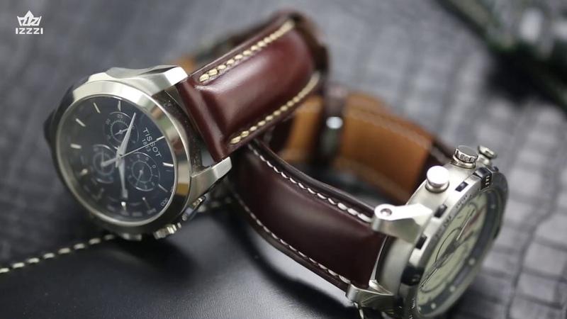 来自中国的手工皮具匠人带你纯手工制作皮表带