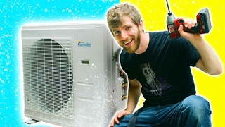 This was MUCH harder than I expected... DIY Air Conditioning Pt 1