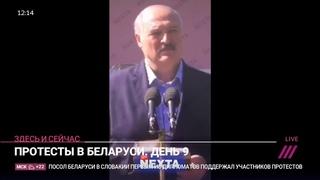 «Уходи!» Рабочие МЗКТ освистали Лукашенко на встрече // Здесь и сейчас