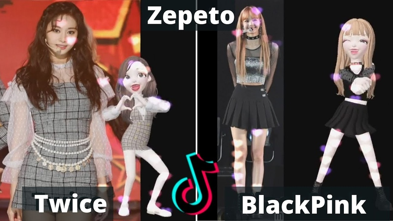 Twice and BlackPink in Zepeto. Short music videos from TikTok