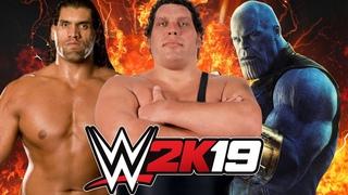 The Great Khali vs Andre the Giant vs Thanos