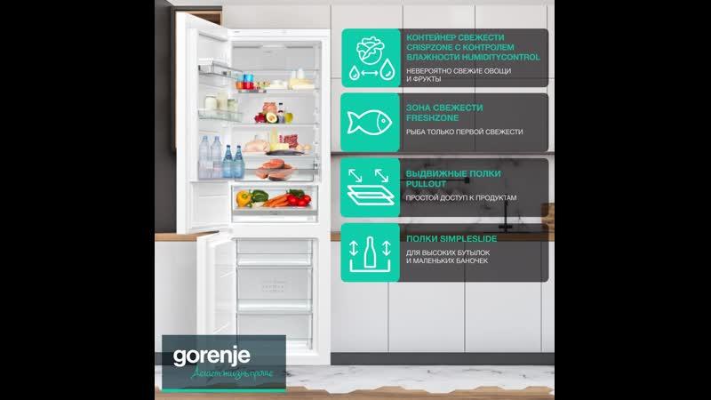 Холодильник Gorenje RK611SYW4