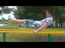 VICTORIAN CROSS REVERSE PLANCHE And FRONT LEVER MONSTER Flo Lit