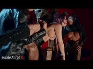 Monique Alexander, Madison Ivy - No Mercy For Mankind [Threesome, MILF, Lingerie, Pantyhose, Stockings, Redhead, Brunette, Tatto