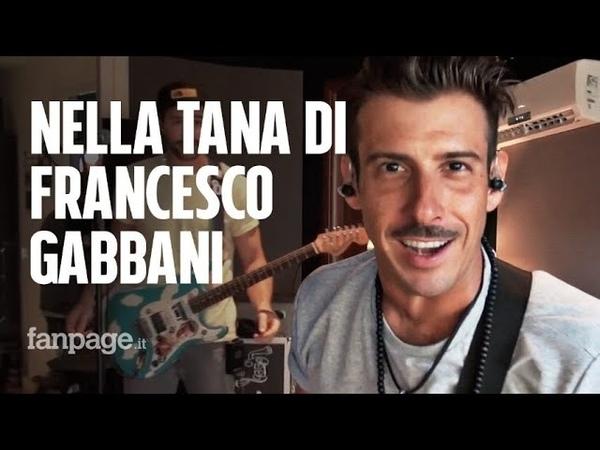 Alle prove del tour di Francesco Gabbani È dal vivo che si vede il lato umano del musicista