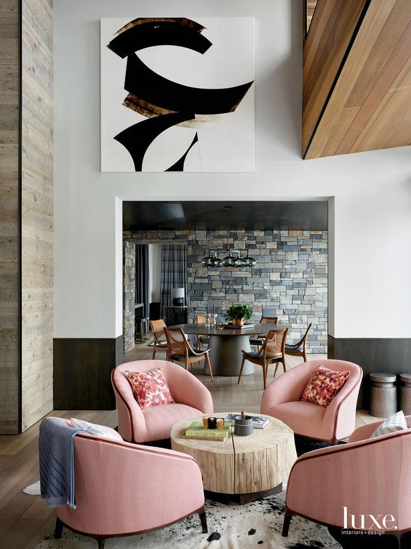 Роскошь и стильный дизайн: великолепный дом в горах Калифорнии