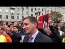 Кремлёвского пропагандиста канала Россия 1 освистали криками позор на митинге 10 августа