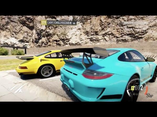 FH2 GoPro Porsche Road Trip Online LC Much MLG!   SLAPTrain
