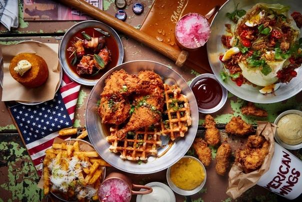 Кухня США Существует мнение, что американская кухня представляет собой блюда, которые предлагают в ресторанах быстрого питания. Но на самом деле американская кухня совсем не ограничивается
