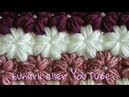 İncili krizantem çiçeği lif, battaniye,bere,atkı,yelek, kırlent modeli