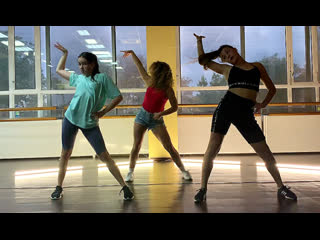 Jbalvin, tyga, chris brown - haute choreography by nastya balioz