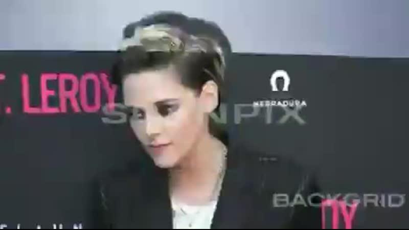 Kristen Stewart attends the J T Leroy premiere in Hollywood CA April 24