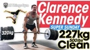 Clarence Kennedy SUPER SUNDAY 227kg 500lbs Clean PR 320kg x3 Deadlift Speed Squats Crazy Flips