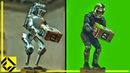 Boston Dynamics Fake Robot: VFX Before After Reveal