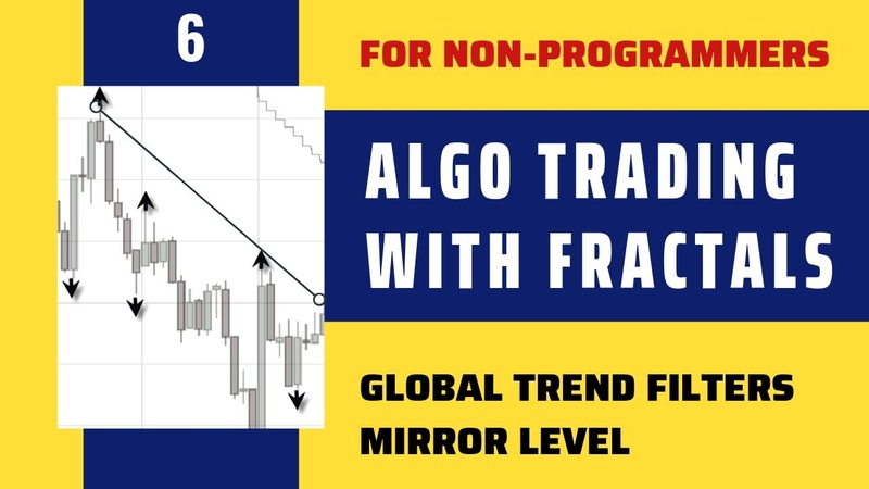 FRACTAL Trading: Global Trend Filters, Trend Lines. Mirror Levels. FREE course for Non-programmers