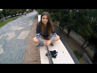 Stella Cox Nude In Public Selfie Video