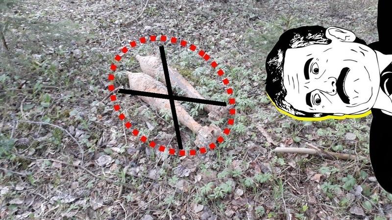 СТРАШАНЯ И ОПАСНАЯ НАХОДКА в лесу С garrett ace 250