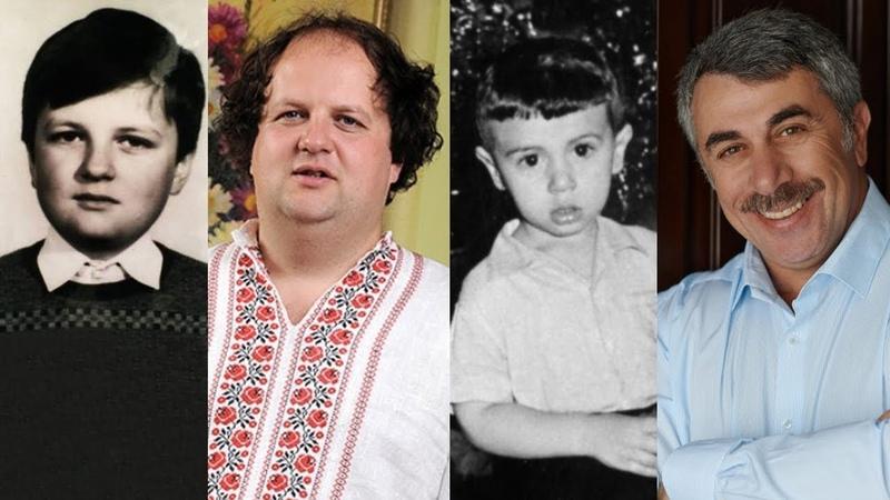 Як у дитинстві виглядали українські знаменитості? (Частина 2)