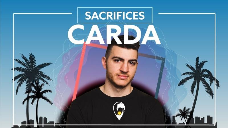 Carda Sacrifices feat Jordan Powers Lyric Video