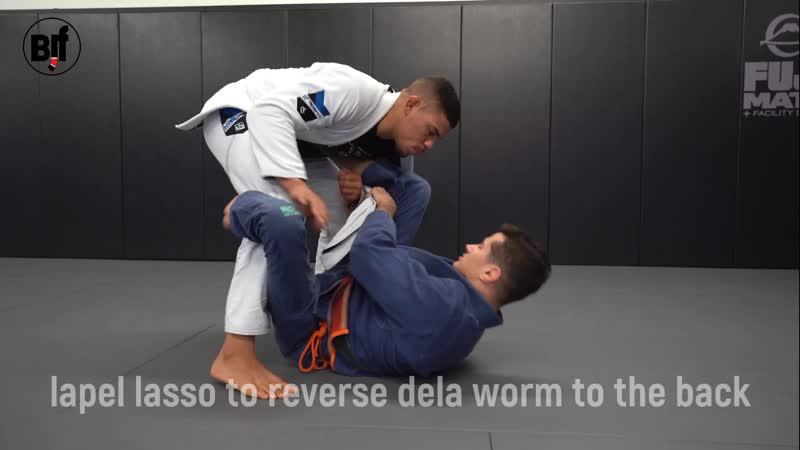 Caio Terra - lapel lasso to reverse dela worm to the back