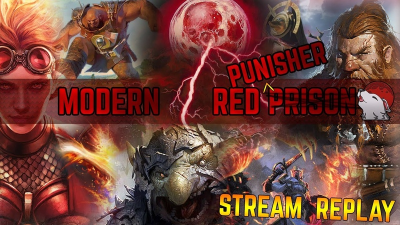 Modern Punisher Red Blazing with Eidolons Speed running the League!