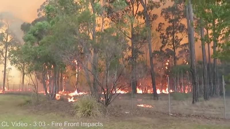 Holsworthy Major Bush Fire Emergency Australia