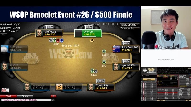 FINAL TABLE WSOP Bracelet Event 26 $500 Grand Finale Please Don't Punt
