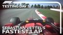 Формула-1 * Тесты в Барселоне * Быстрейший круг Феттеля