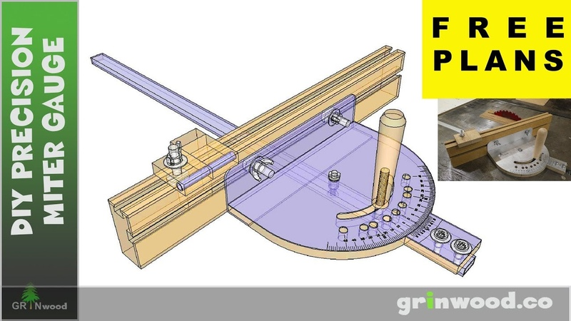 Making Precision Miter Gauge 👍 FREE PLANS 👍 Don't Repeat My Mistakes