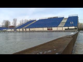 Тюменский стадион Геолог готов к Русской классике-2019 + воспоминание о битве Рубина и Зауралья в январе 2018 года