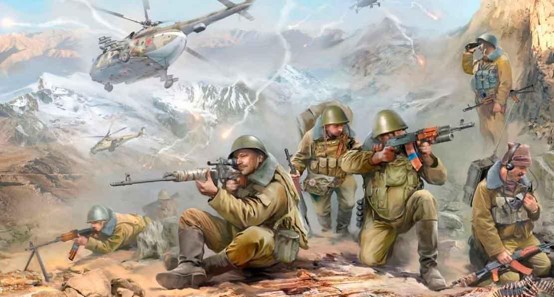 Бой в Афгане