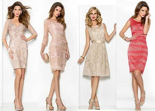 виды новогодних платьев