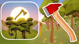FlyingAxe - THROW YOUR AX AND CHOOSE WHAT TO GET (Gameplay iOS)