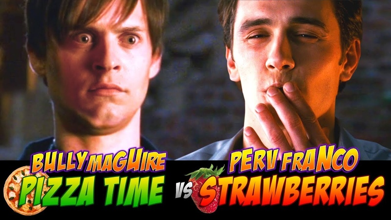 PIZZA TIME vs STRAWBERRIES Bully Maguire and Perv Franco EPIC BATTLE