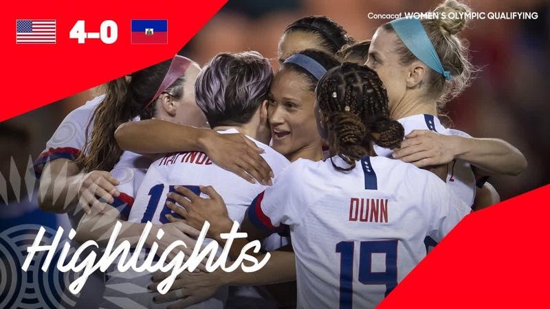 CWOQ2020 United States vs Haiti Highlights