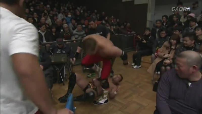 2013.02.23 - Burning vs. AJPW Five-Match Series (COMPLETE/HQ)