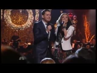 Thalia y Michael Buble - Feliz Navidad (Mis Deseos)