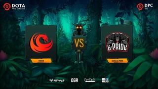Hokori vs Gorillaz Pride, Dota Pro Circuit 2021: S1 - SA, bo3, game 1 [Lex & GGS]
