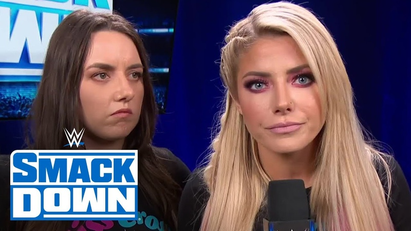 Video@alexablissdaily Alexa Bliss invites Asuka to knock on SmackDown's front door SmackDown March 20 2020