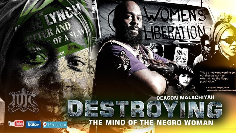 SABBATH NOON CLASS Destroying The Mind Of The Negro Woman