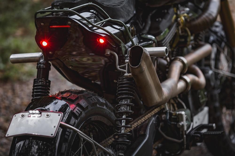 Purpose Built: кастомный дуал-спорт Harley-Davidson Sportster