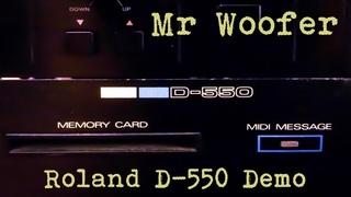 Mr Woofer - Molding Glass (Roland D-550 Demo)