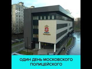 Один день из жизни сотрудников Ростокинского ОВД -  Москва 24