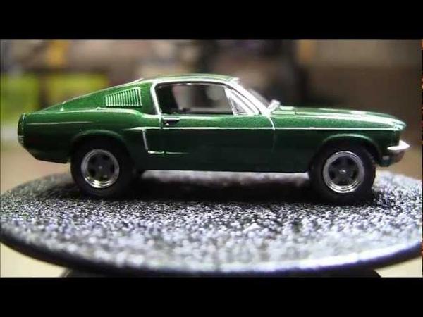 1 64 GreenLight BULLITT Steve McQueen 1968 Mustang GT 1968 Dodge Charger R T