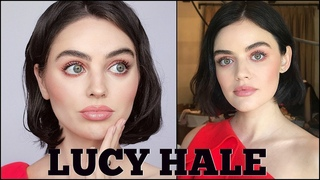 lucy hale's everyday makeup tutorial   pretty in pink summer makeup