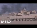 Танки M1A2 Абрамс в пустыне Кувейта Abrams in the Kuwait Desert